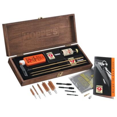 Hoppes Deluxe Wooden Gun Cleaning Kit