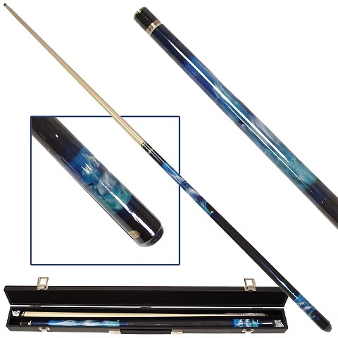 Trademark Global Dolphin Lover Billiard Pool Cue with Case
