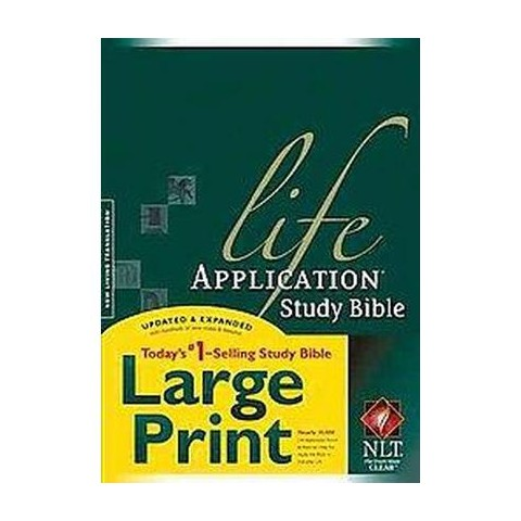 Life Application Study Bible (Indexed, Large Print) (Hardcover)
