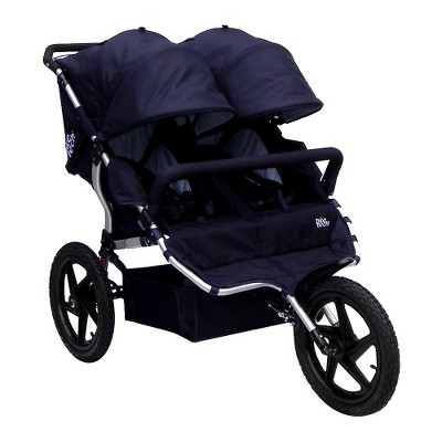 All Terrain X3 Sport Double Stroller - Classic Black