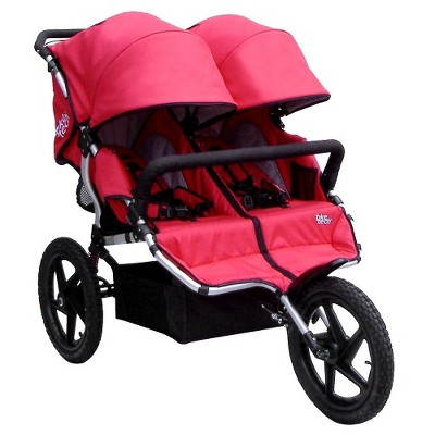 All Terrain X3 Sport Double Stroller - Alpine Red