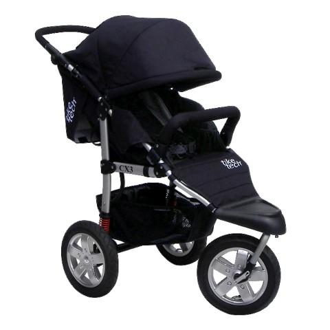 Tike Tech Single City X3 Swivel Stroller
