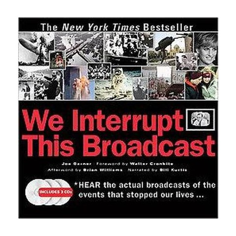 We Interrupt This Broadcast (Anniversary) (Mixed media product)