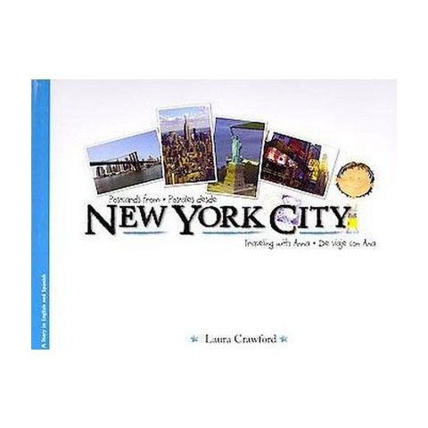 Postcards from New York City/Postales desde New York City (Bilingual) (Hardcover)