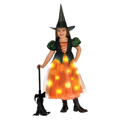 Girl's Twinkle Witch Toddler/Child Costume