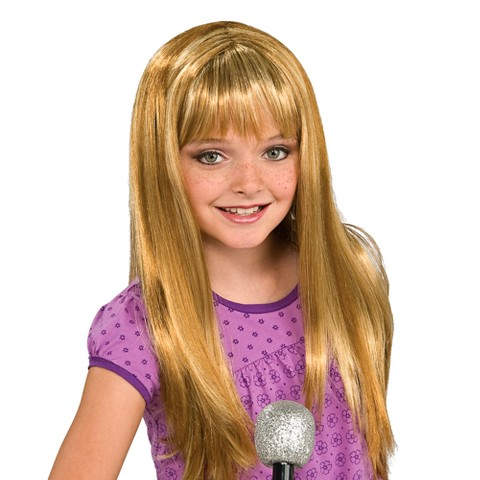 Girls' Rock Diva Wig Blonde