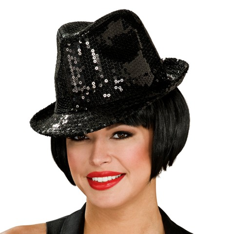 Women's Sequin Fedora Hat