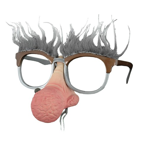 Men's Geezer Nose Hair Glasses