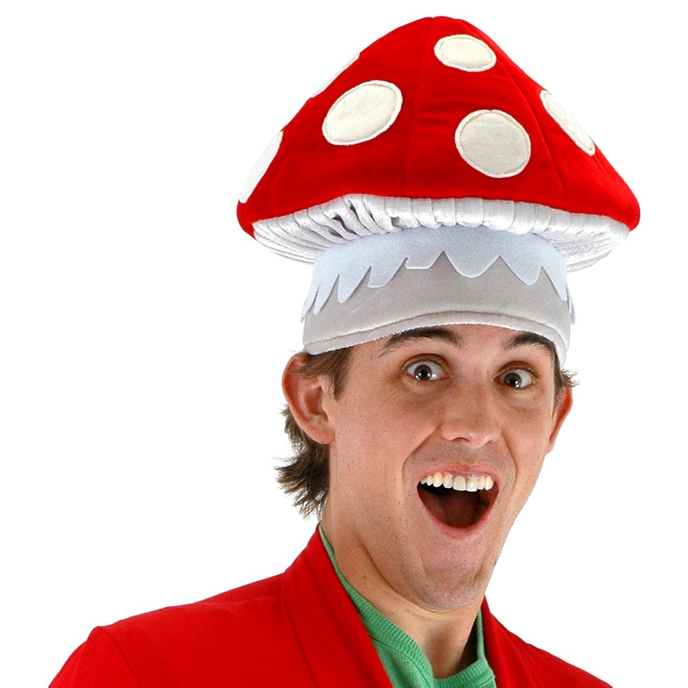 Как сделать грибочек на голову в детский