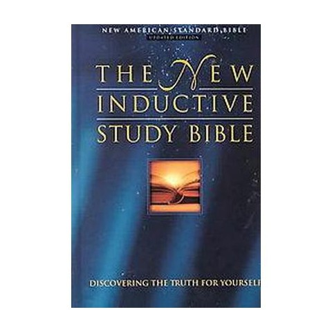 The New Inductive Study Bible (Updated) (Hardcover)