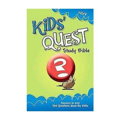 Kids Quest Study Bible (Revised) (Hardcover)