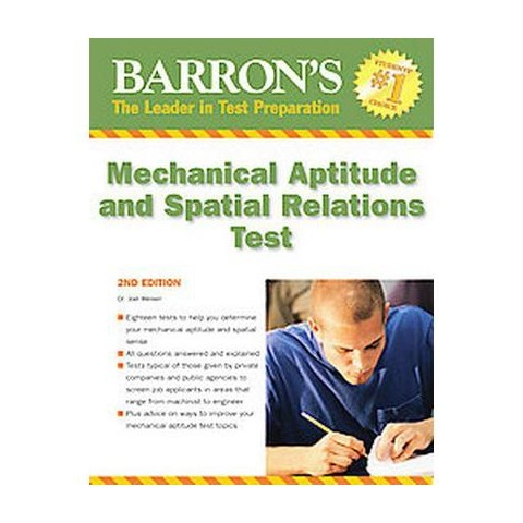 Barron's Mechanical Aptitude and Spatial Relations Test (Paperback)