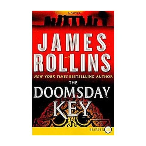 The Doomsday Key (Large Print) (Paperback)