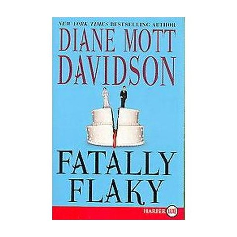 Fatally Flaky (Large Print) (Paperback)