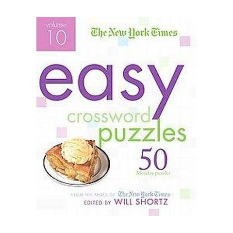 The New York Times Easy Crossword Puzzles (10) (Paperback)