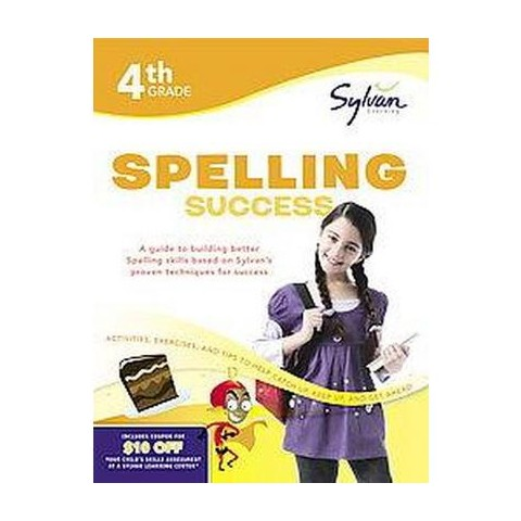 4th-Grade Spelling Success (Workbook) (Paperback)