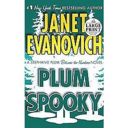 Plum Spooky (Large Print) (Paperback)