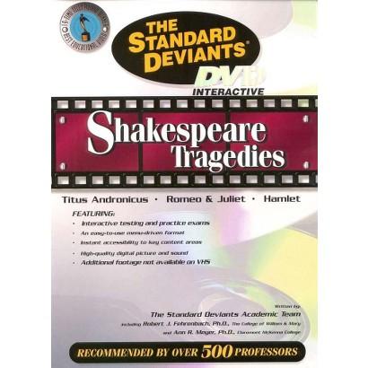 The Standard Deviants: Shakespeare Tragedies - Titus Andronicus/Romeo & Juliet/Hamlet (Fullscreen)
