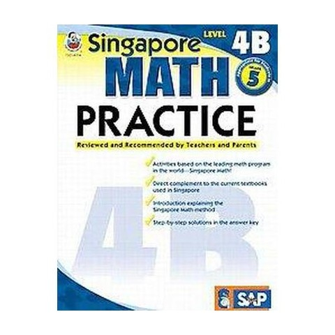 Singapore Math Practice, Level 4B (Workbook) (Paperback)