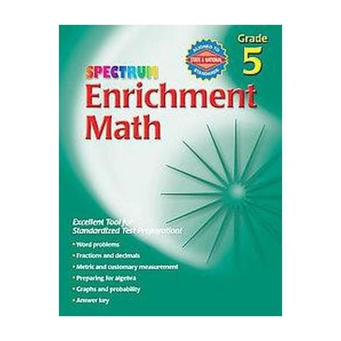 Spectrum Enrichment Math (Workbook) (Paperback)