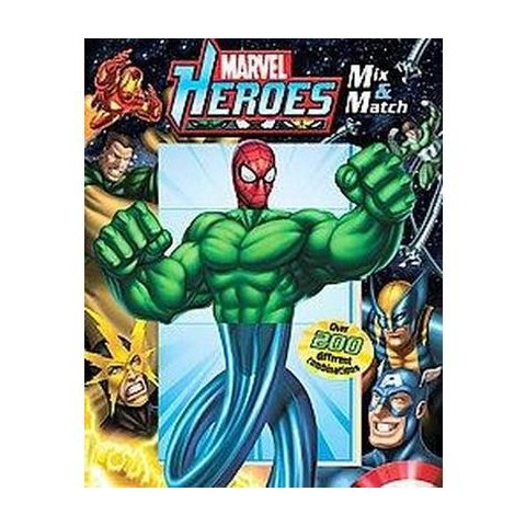 Marvel Heroes Mix & Match (Board)