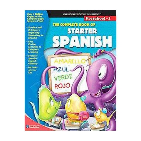 The Complete Book of Starter Spanish (Bilingual) (Paperback)