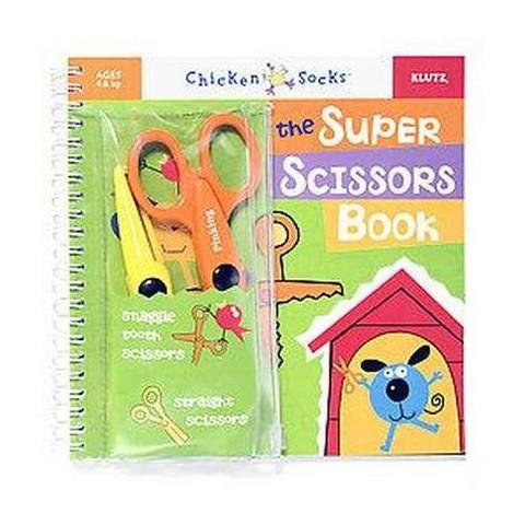 Super Scissors Book (Spiral)
