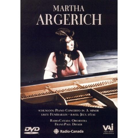 Martha Argerich: Schumann/Liszt/Ravel