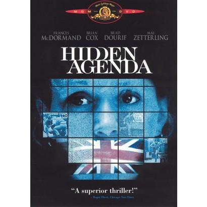 Hidden Agenda (Widescreen, Fullscreen)