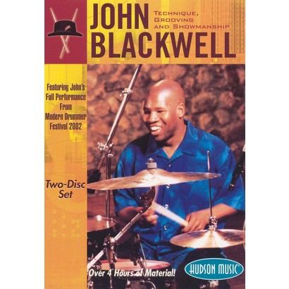 John Blackwell: Technique, Grooving and Showmanship (2 Discs)