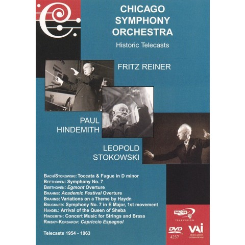 Chicago Symphony Orchestra Historic Telecasts: Reiner/Hindemith/Stokowski