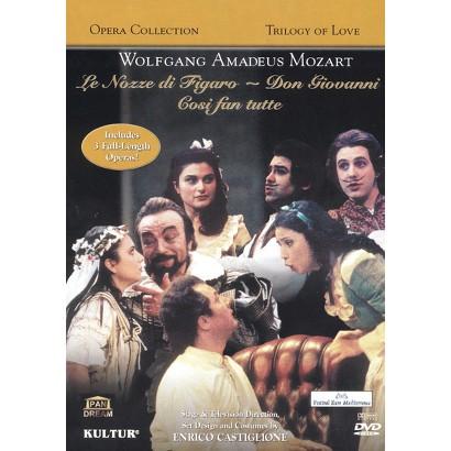 Wolfgang Amadeus Mozart: Trilogy of Love (3 Discs) (Widescreen)