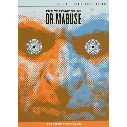 The Testament of Dr. Mabuse (2 Discs) (Criterion Collection) (S)