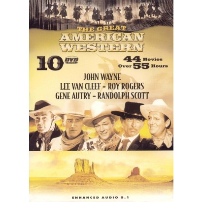 The Great American Western, Vols. 1-10 (10 Discs)