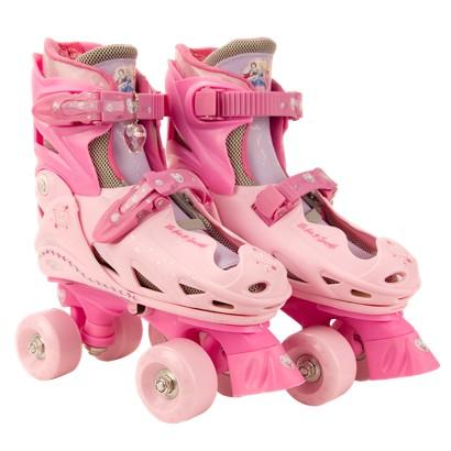 Disney Princess Quad Skates - Pink (J10-J13)