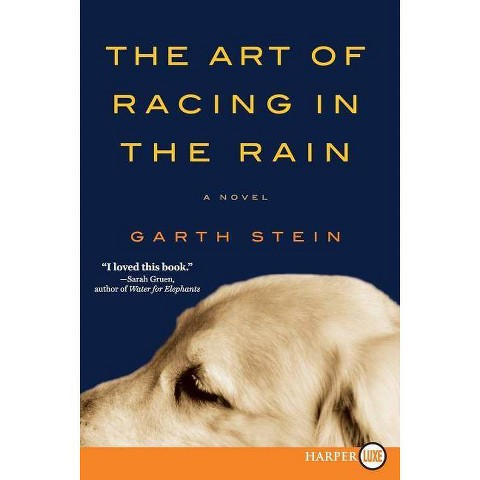 The Art of Racing in the Rain (Large Print) (Paperback)