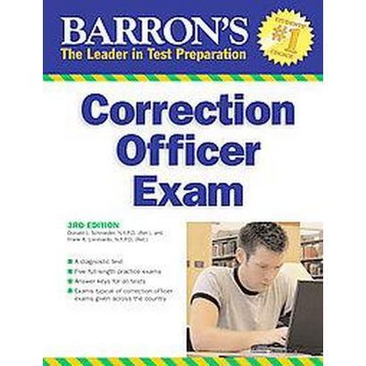 Barron's Correction Officer Exam (Revised) (Paperback)