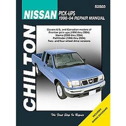 Chilton's Nissan Pick-ups 1998-04 Repair Manual (Paperback)