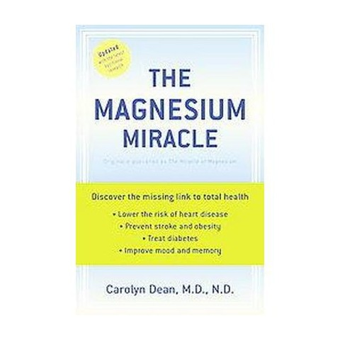 The Magnesium Miracle (Updated) (Paperback)