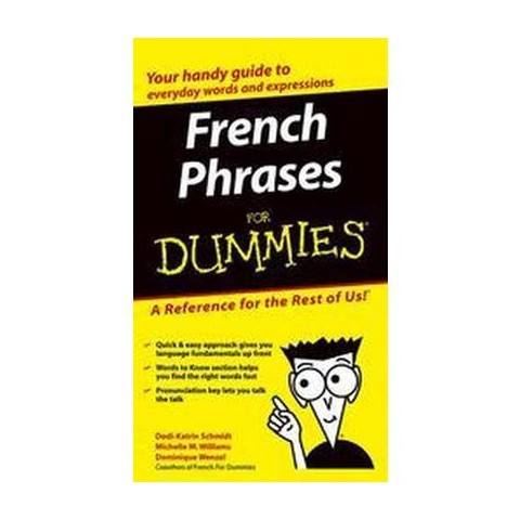 French Phrases for Dummies ( For Dummies Series) (Bilingual) (Paperback)
