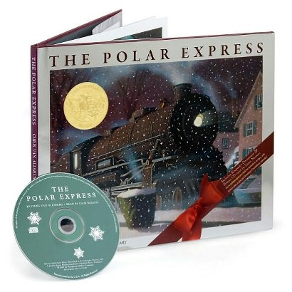 The Polar Express by Chris Van Allsburg (Mixed media product - CD & Hardcover)