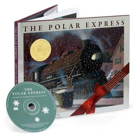 The Polar Express by Chris Van Allsburg (Mixed media product - CD & Hardcover)
