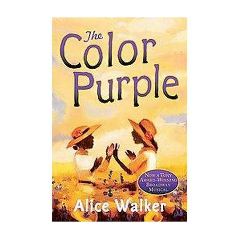 The Color Purple ( Harvest Book) (Paperback)