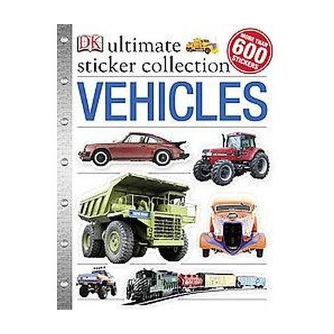 Vehicles Ultimate Sticker Book (Paperback)