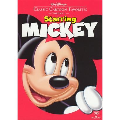 Classic Cartoon Favorites, Vol. 1: Starring Mickey (R)