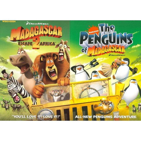 Madagascar: Escape 2 Africa /The Penguins of Madagascar (2 Discs) (Back to Back) (Widescreen)