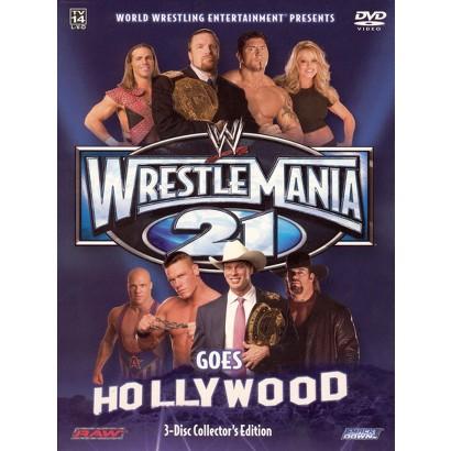 WWE: Wrestlemania 21 (3 Discs)