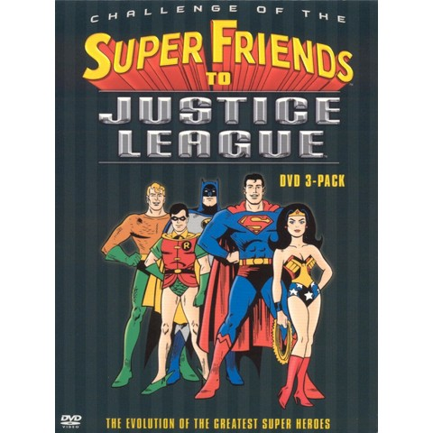 Challenge of the Super Friends to Justice League (3 Discs)