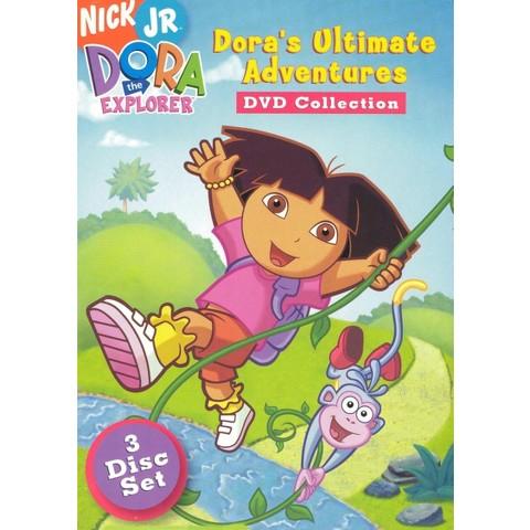 Dora the Explorer: Dora's Ultimate Adventures DVD Collection (3 Discs)