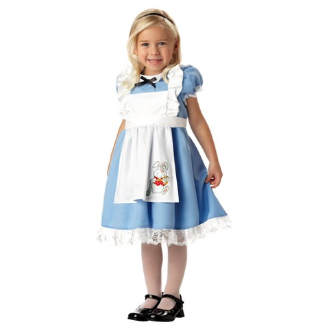 Lil' Alice in Wonderland Girls' Costume